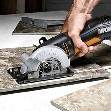 Compact Circular Power Saw Lightweight Single Speed Electric Portable Hand Worx