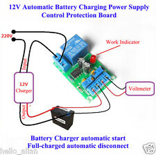 12V Battery Automatic Charging Switch Controller Module Protection Relay Board