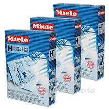 15 x Genuine Miele Type H HyClean Vacuum Bags S238I S240 S240I Hoover Bag