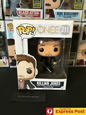 ONCE UPON A TIME KILLIAN JONES FUNKO POP VINYL FIGURE #311 - NEW + PROTECTOR