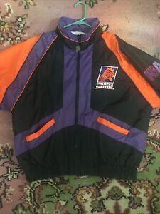 Vintage Phoenix Suns Pro Player by Daniel Young  Windbreaker/Jacket Size Large