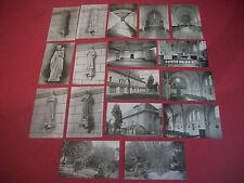 17 Cartes Postales Anciennes Laval (Mayenne) Procure des Missions Franciscaines