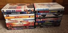 Lot of 20 Empty DVD Cases with art ( no dvds included)