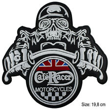 Toppa Cafè racer cafe racer moto patch termoadesiva grande big motors motocycle