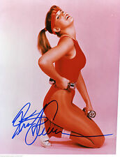 KRISTY SWANSON AUTOGRAPHED SIGNED 8X10 WORKING OUT IN RED WITH COA