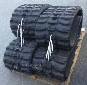 """Two Rubber Tracks Fits Gehl RT210 5640E 5635 450X86X56 18"""" Q Tread Free Shipping"""