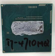 New listing Intel Core i7-4710Mq 2.5Ghz Quad-Core Mobile Laptop Cpu Sr1Pq Socket G3 - Cpu923