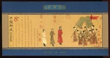CHINA PRC 2002-5 Kaiserliche Sänfte Walking Coach Painting Bl. 104 ** MNH