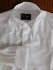 """Wing collar shirt size 15"""" d'Alterio Colin Ross vintage 1990s mens formal dress"""