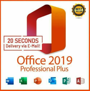 ✅ MS®Officé365 Pro 2019 ❤️ PLUS✔ Vollversion ❤️ 32/64✔5TB✔ Professional✔️Konto✅