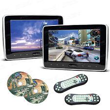 2x 10,1 Zoll Auto Kopfstütze Monitor DVD Player HD Screen USB HDMI Port Tragbar