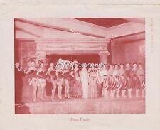 ROMA VIA VENETO - RUPE TARPEA - JICKY CLUB 1954  PROGRAMMA SPETTACOLI MUSICALI
