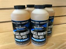 Hot Shot's Secret Diesel Winter Anti-Gel, 4 - 16oz Bottles, Anti-Gel Additive