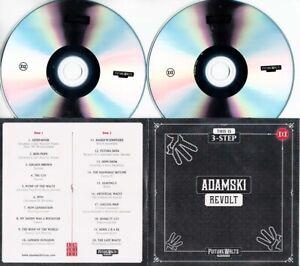 ADAMSKI Revolt 2015 UK 20-track promo test 2-CD Lee Perry David McAlmont
