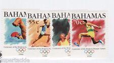 1996 Bahamas #870 871 872 873 MNH ** VF Centenary of Olympic Games set