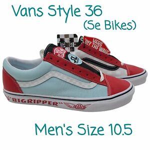 Vans x SE Bikes Style 36 Big Ripper Shoes VN0A54F64Y7 New W/Box Men's Size 10.5