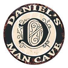 CPMC-0012 DANIEL'S MAN CAVE Rustic Chic Tin Sign Man Cave Decor Gift Ideas
