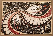 RARE 2009 Widespread Panic Charleston SC Gig Poster by Jeff Wood WSP not sperry