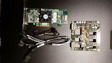 Areca ARC-1212 - storage controller (RAID) + Chenbro SR209 + Cables