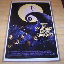 Tim Burton's The Nightmare Before Christmas 11X17 Original Version Movie Poster