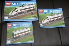 LEGO Instruction Books For Passenger Train Set 60051 2 3 4