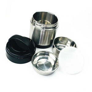 Double Layer Lunch Box Thermal Insulated Food Container Stainless Steel Hot Box