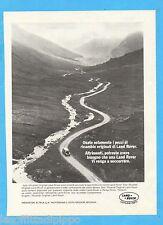 QUATTROR982-PUBBLICITA'/ADVERTISING-1982- LAND ROVER - RICAMBI ORIGINALI