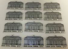 Grand Central Terminal Magnet New York City NYC Train Station Souvenir Lot of 12