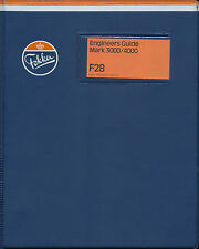 FOKKER F-28 FELLOWSHIP / F28 MK.3000 AND 4000 ENGINEERS GUIDE / 1975