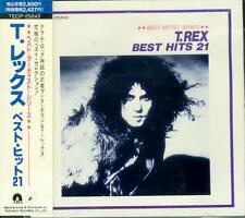 BEST ARTIST SERIES T-REX Best Hits 21 Japan CD TECP-25243 OBI 1989
