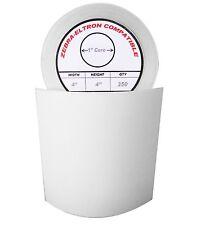 "4x4 (4"" x 4"") Direct Thermal Zebra Eltron Labels (40 Rolls/350 Labels)"