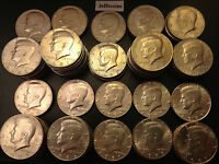 1980-1989 P D Kennedy Half Dollar Coin From 80s Old Kenedy US Mint 50¢ Halve Lot