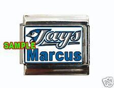 Toronto Blue Jays w/ Any Name Custom Italian Charm MLB