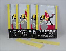 CARTA Aromatica d'ERITREA 240 listelli n°4 confezioni profumo ambienti