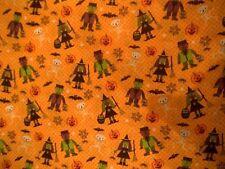 Crafts Halloween Fat Quarter Unbranded Fabric