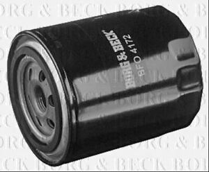 BORG & BECK OIL FILTER FOR AUDI A4 CONVERTIBLE 2.4 125KW