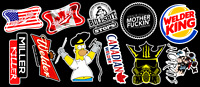Welder's Tribute Contour Cut Vinyl Sticker Pack