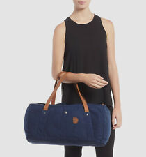 $391 Fjallraven Men's Blue Water Resistant Travel Work Duffle Duffel Handbag Bag