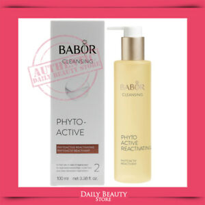 Babor Cleansing Phytoactive Reactivating 100ml 3.38oz SEALED NEW FAST SHIP