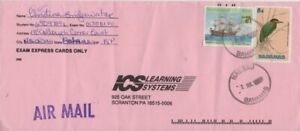 Bahamas -1991 Birds, 5c Green Heron -1999 Ships, 60c Queen Anne's Revenge Cover