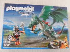 Playmobil Knights Großer Burgdrache 6003 Neu & OVP Ritterburg Burg grüner Drache
