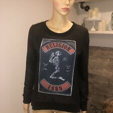 RELIGION LONDON XSMALL Long Sleeve Light Sweater