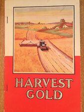 HARVEST GOLD. Caltex. Farm Machines. Australian