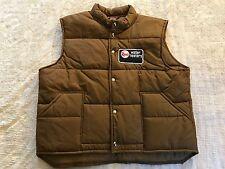 Men's Pla-Jac by Dunbrooke Nylon Poly RHEEM Water Heaters Vest (XL 48-50) USA
