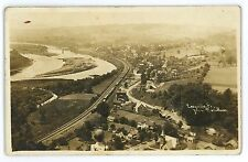 RPPC LVRR Lehigh Valley Railroad Line LACEYVILLE PA Wyoming Real Photo Postcard