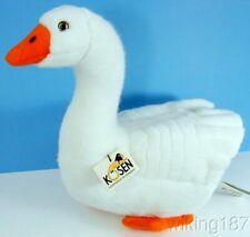 Kosen Of Germany #6390 New Large Sitting White Goose Plush Toy