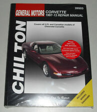 Reparaturanleitung Chevrolet Corvette C5 + C6, Baujahre 1997 - 2013