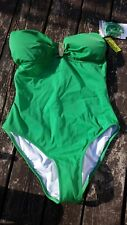 BNWT Phax Bandeau Swimsuit with Hardware Detail  Costume RRP £48 Size M  A143-26