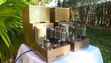 ORIGINAL 1960's MARANTZ MODEL 5 PAIR OF MONO BLOCK TUBE AMPLIFIERS OUTSTANDING