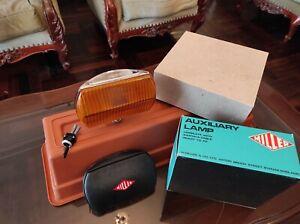 VTG Miller Iodo Rally Fog Light Bumper 70s 80s Driving Lamp and Cover Miller NOS
